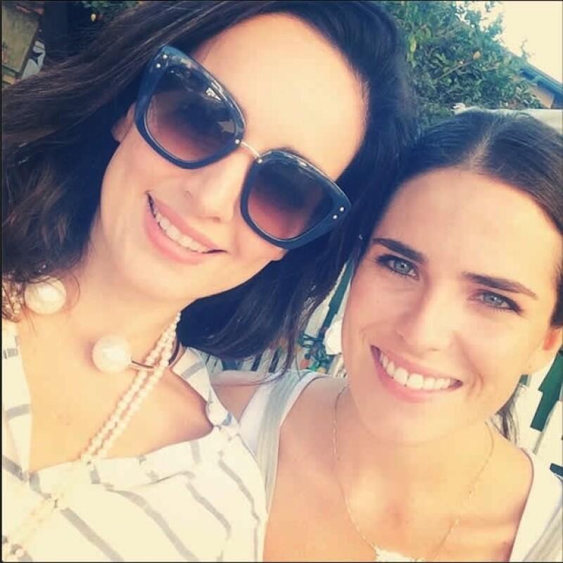 Ana de la Reguera y Karla Souza