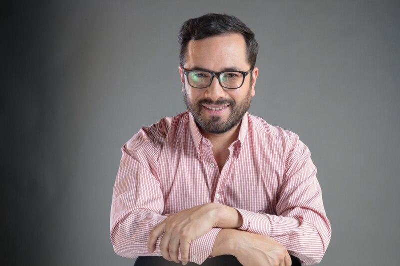 Víctor Hugo Romo, candidato por Morena a la Alcaldía de Miguel Hidalgo.