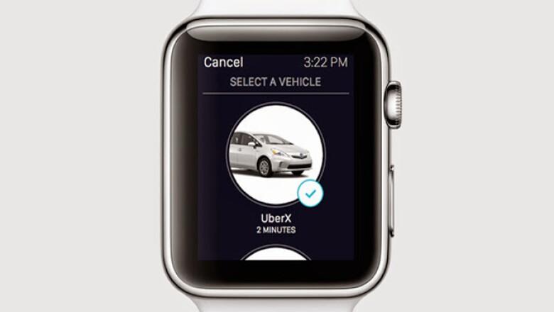 Apple Pay; Stand Up, Instagram, Uber, Passbook y apps para controlar las puertas.