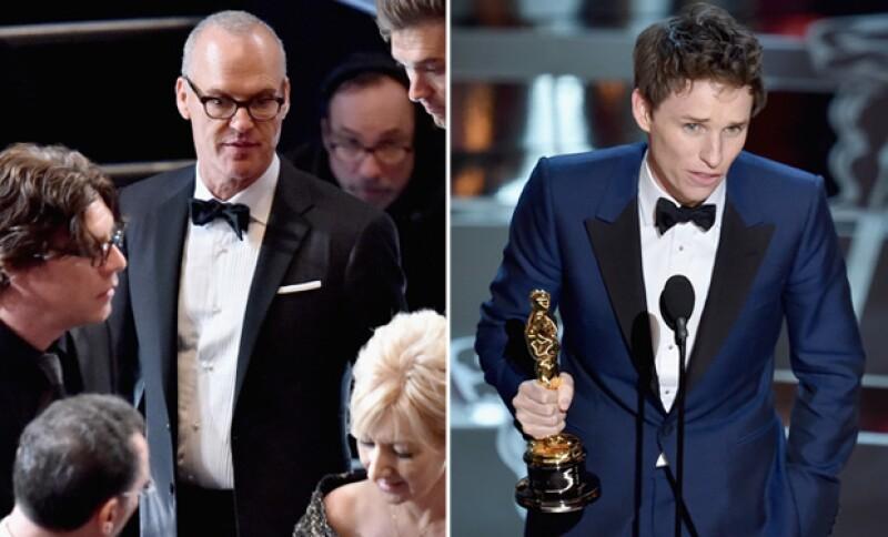 """Ha comenzado a circular en redes sociales un video en el que se ve que el protagonista de """"Birdman"""" ya tenía preparado su discurso, en caso de ganar la estatuilla."""