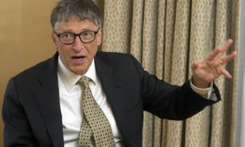 El fundador de Microsoft, Bill Gates, hizo pública su carta anual de la Fundación Bill y Melinda Gates. (Foto: EFE)