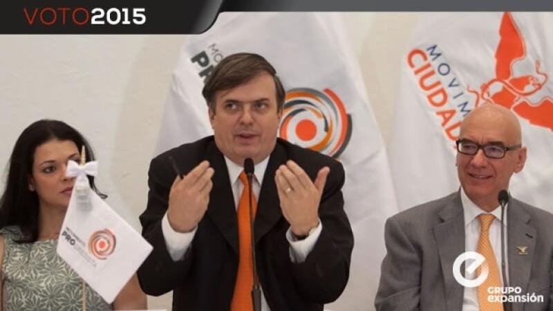 Marcelo Ebrard, movimiento ciudadano, dante delgado