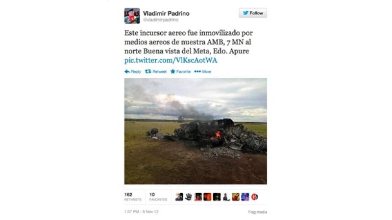 avion mexicano derribado en venezuela