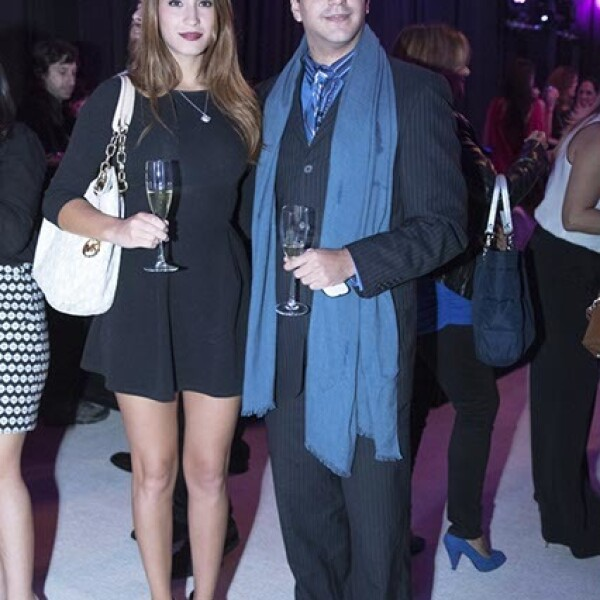 Carolina Álvarez y Germán Kanahuati