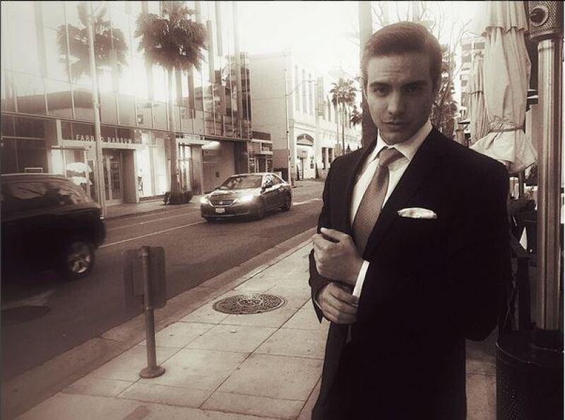 El hijo de Eugenio Derbez se mudó en enero a Los Ángeles, donde ya hace castings, pues quiere hacer cine y series allá.