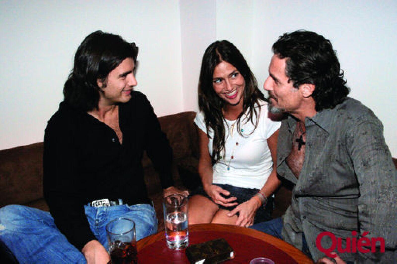 Carlos Anda, Mariana Alaman, Carlos Bisdikián