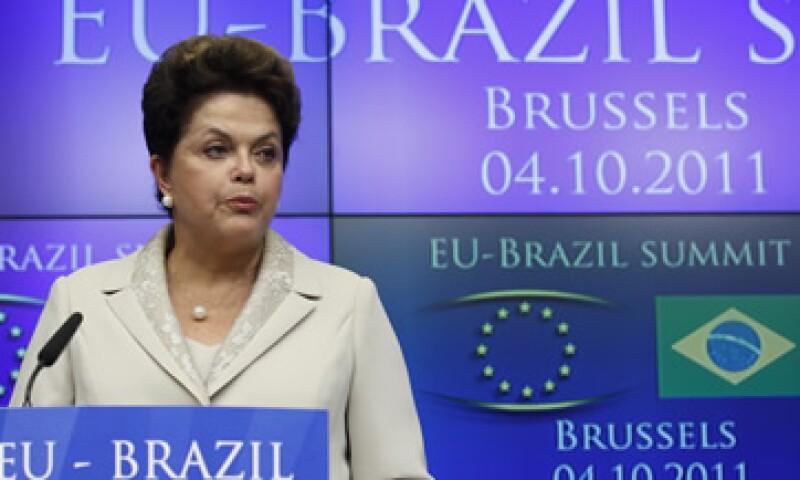 La presidenta brasileña y la UE firmaron acuerdos de cooperación sobre transporte aéreo, desarrollo tecnológico, políticas espaciales, cultura y turismo. (Foto: Reuters)