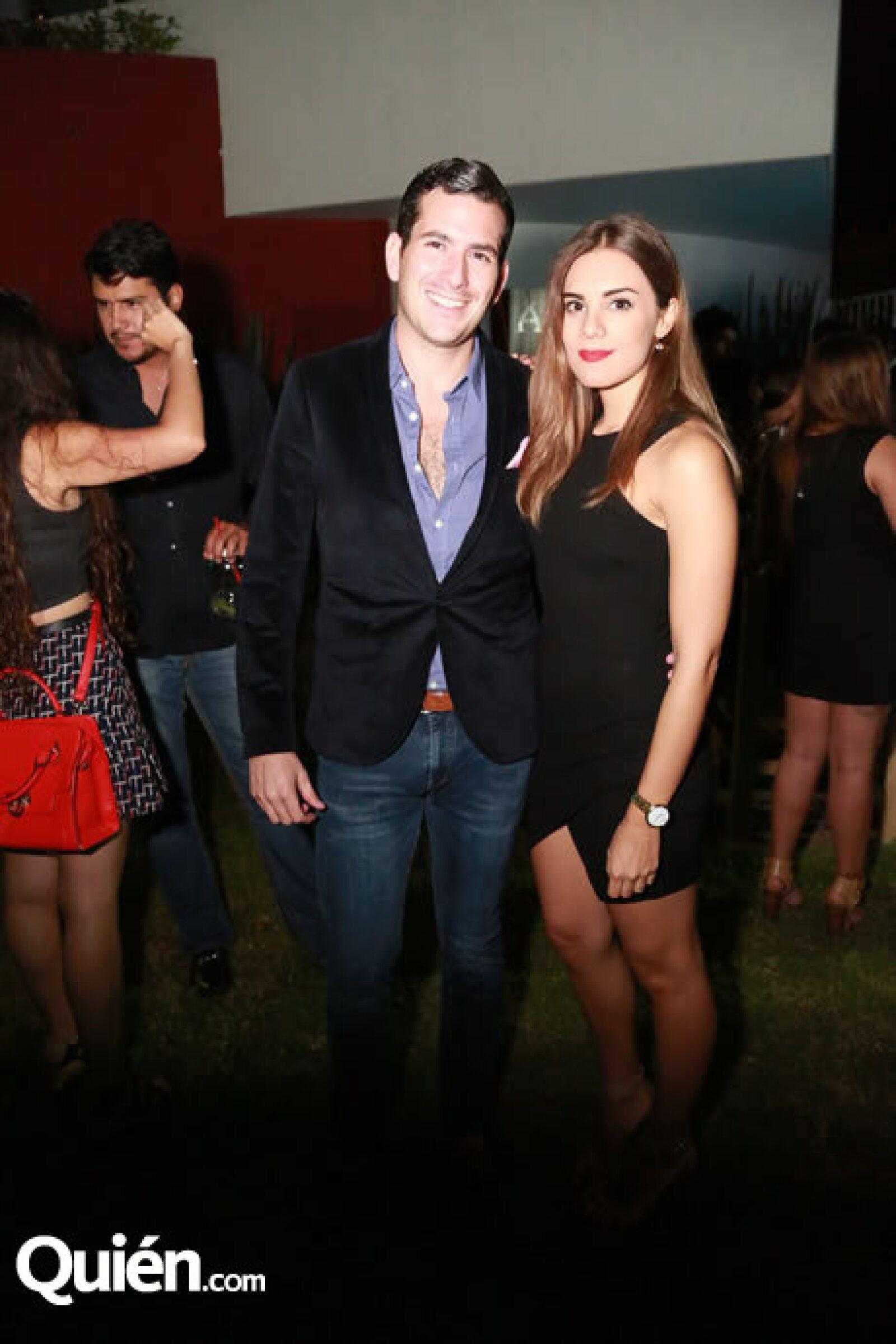 Isaac Ríos y Carolina Perelles