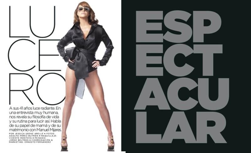 La nueva edición de la revista Quién trae en portada a la protagonista de `Soy tu dueña´. Entre otras cosas habla de cómo le hace para mantenerse así a sus 41 años.
