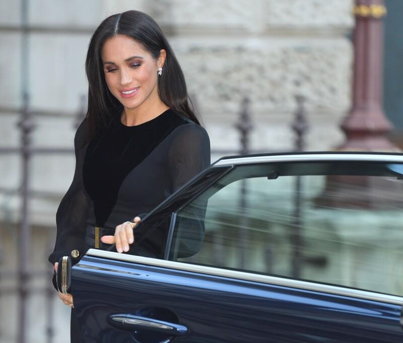 Meghan llega a Royal Arts 2018
