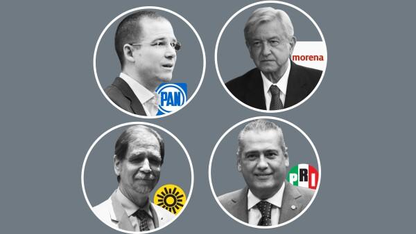 Mientras el PAN consiguió siete gubernaturas, el PRI perdió control de cuatro entidades donde había liderado tradicionalmente.