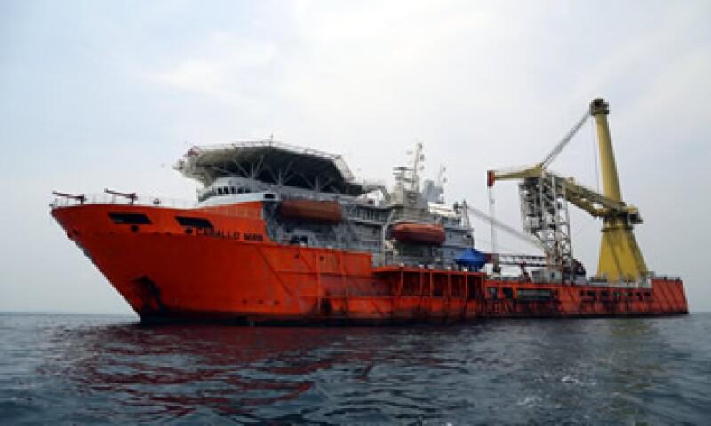 Caballo Maya estaba asegurado por la PGR pues se agregó a la flotilla de Oceanografía. (Foto: Cuartoscuro )