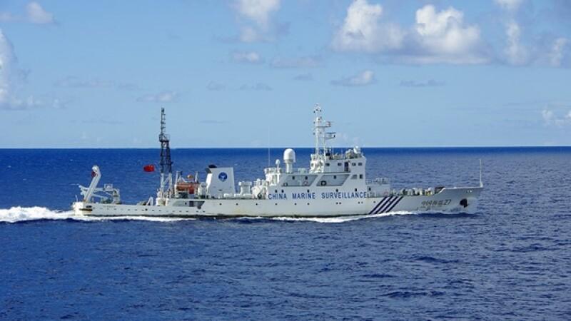 buques chinos en: China islas Diaoyu, Japón islas senkaku