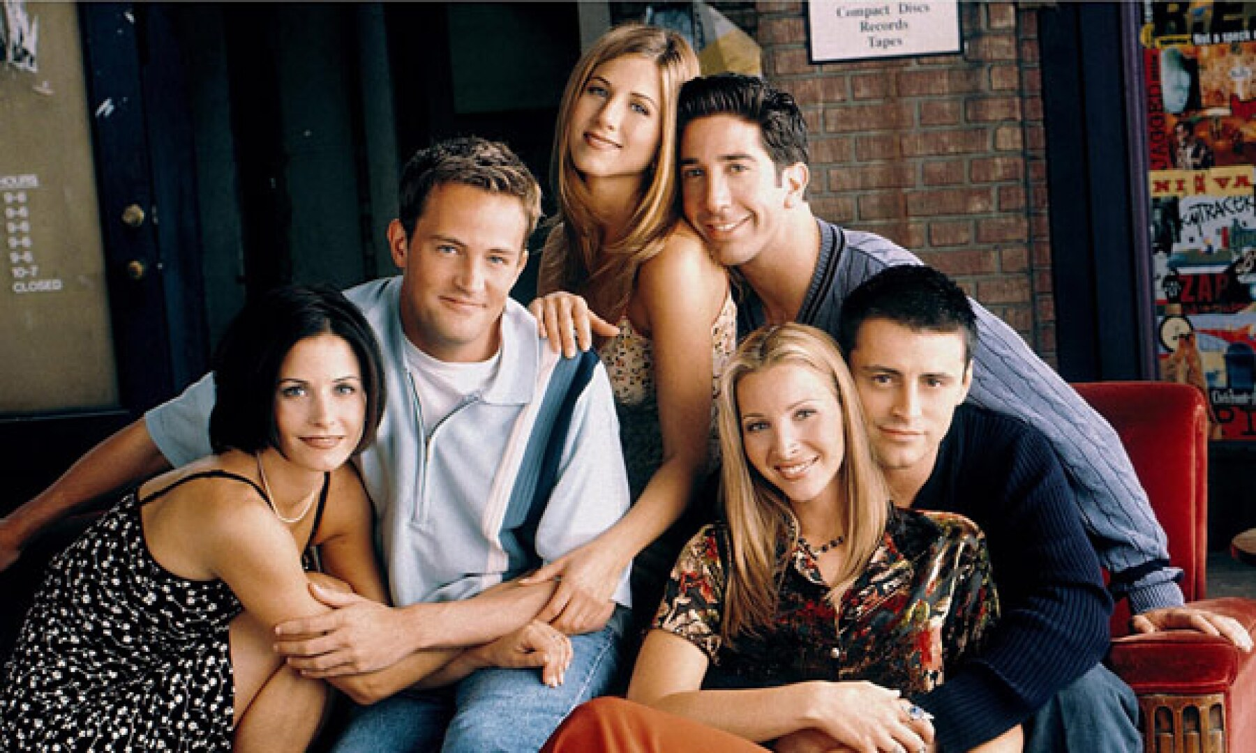Aunque estuvieron juntos durante 10 temporadas, Jennifer Aniston no invitó a Ross, Chandler y Joey a su boda con Justin Theroux.