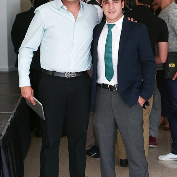 Anibal Fajer y Javier Santos
