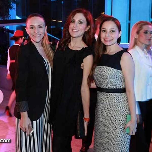 Lucía Pérez,Carla Castrejon y Marcela Maldonado