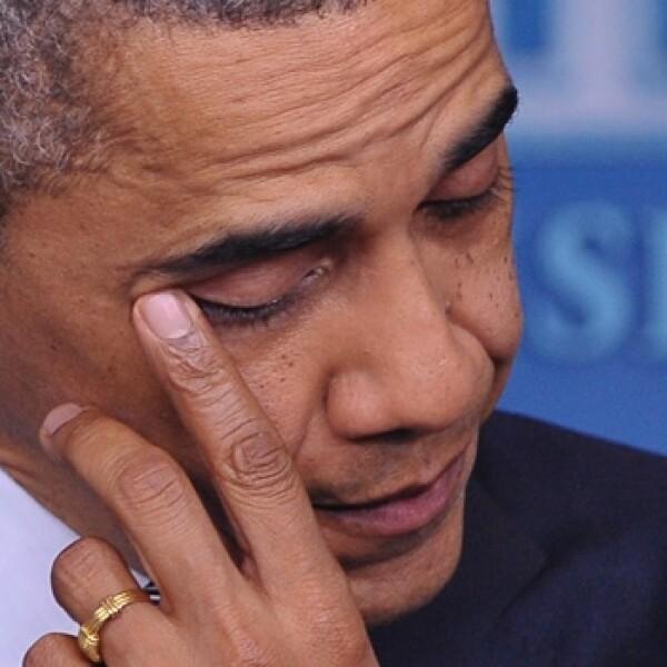 Barack Obama tiroteo