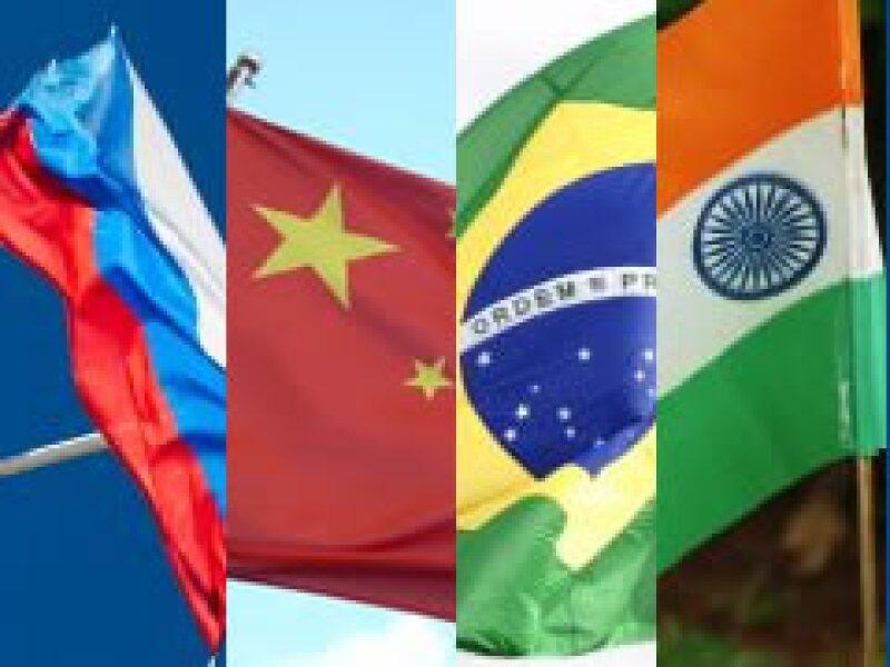 Los jefes de Estado de las cuatro economías emergentes se reunirán el martes en Rusia. (Foto: Especial)