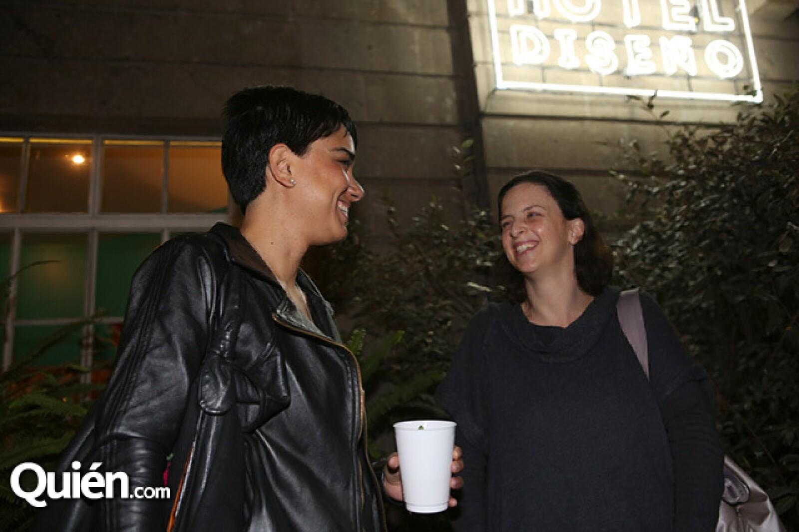 Renata Becerril y Cecilia León de la Barra