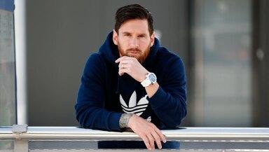Lionel Messi y Jacob & Co