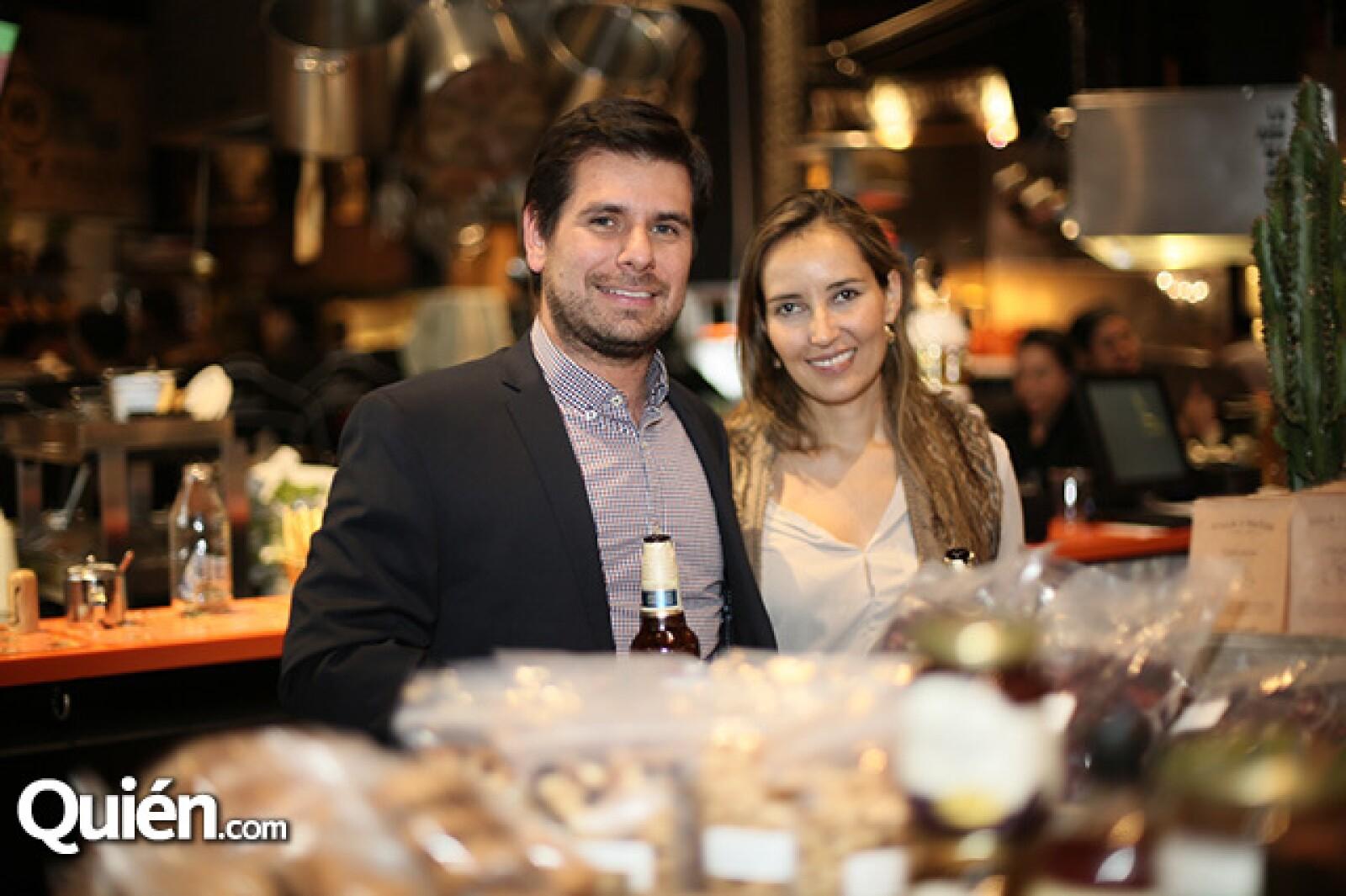 Luis Herrera y Lorena Rojas