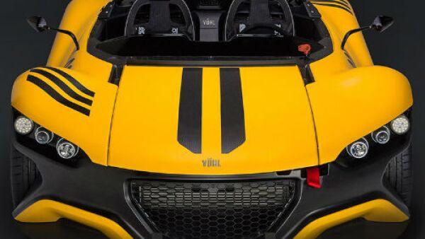 VUHL auto amarillo