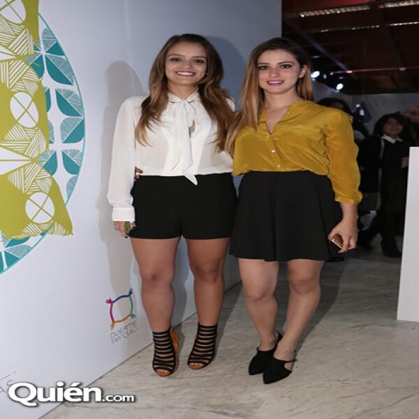 Victoria Barquín y Valeria Bolivar