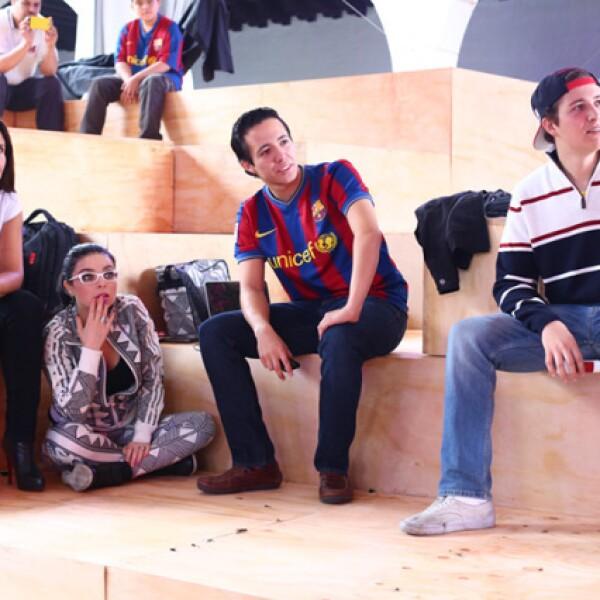 Irma Smith, Violeta Isfel, Andrés Islas y Rafael Yarza