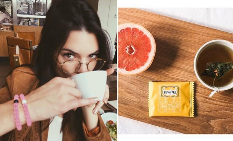Este es el té favorito de la modelo y el cual le ayuda en su desintoxicación.