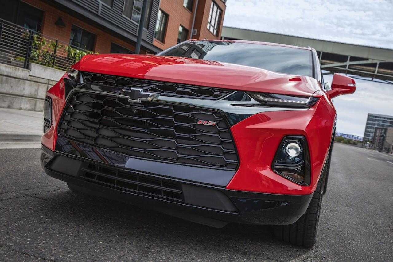 GM suspende la producción de Chevrolet Blazer en México por falta de piezas