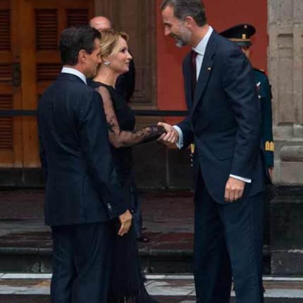 En el acto, efectuado en Palacio Nacional, el presidente Peña Nieto reconoció el compromiso de la corona española para impulsar la unión de Iberoamérica y el mundo, así como para fortalecer la relación entre ambos países.