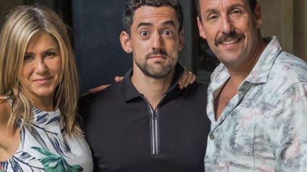 Luis Gerardo Méndez, Jennifer Aniston, Adam Sandler