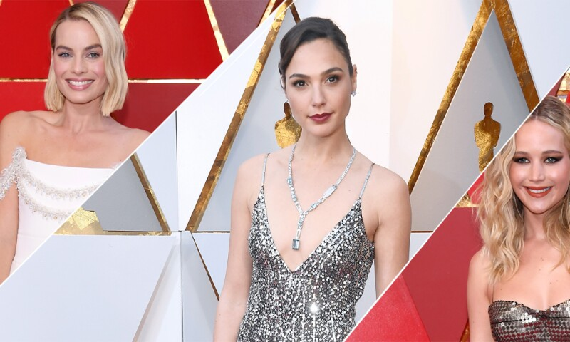 Margot Robbie, Gal Gadot, Jennifer Lawrence