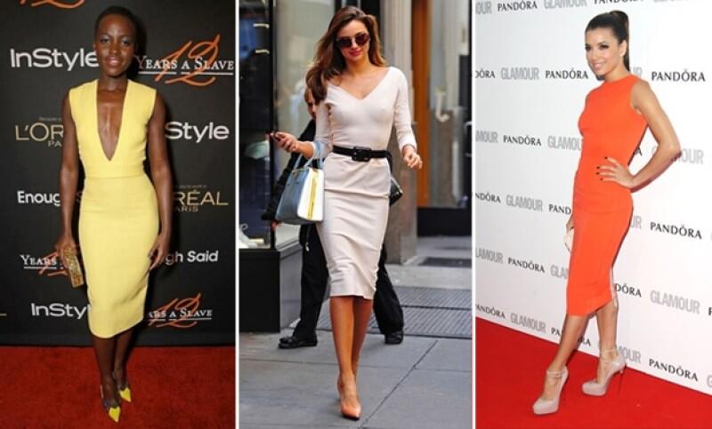 Lupita Nyong´o, Miranda Kerr y Eva Longoria son algunas de las famosas que han presumido diseños de Victoria.