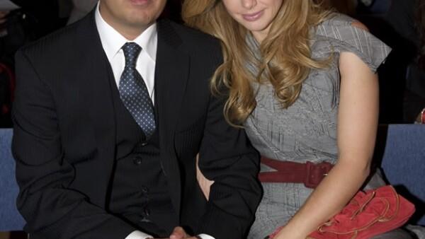 La mexicana acompañó a su novio, Gonzalo Vargas Llosa, a la entrega del premio que recibió su papá en Estocolmo. Dicen que gastó 320 mil euros en sus outfits para los diferentes eventos.
