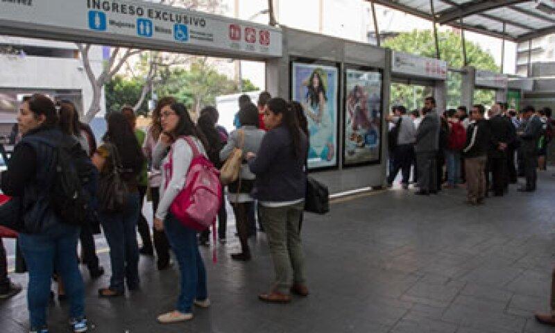 El transporte público en la CDMX ofreció su servicio gratuitamente. (Foto: Cuartoscuro)