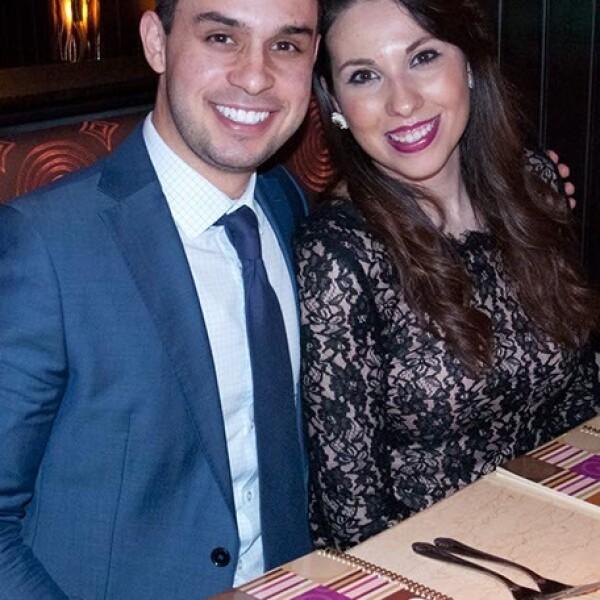 Erasmo Vega y Mónica Domínguez