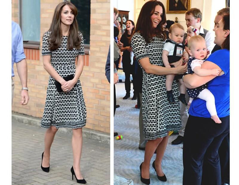 La falda Hugo Boss de Letizia es un must para ella. La vimos la semana pasada con esta pieza que usó por primera vez en 2014. Kate Middleton y Victoria de Suecia también repiten outfits.