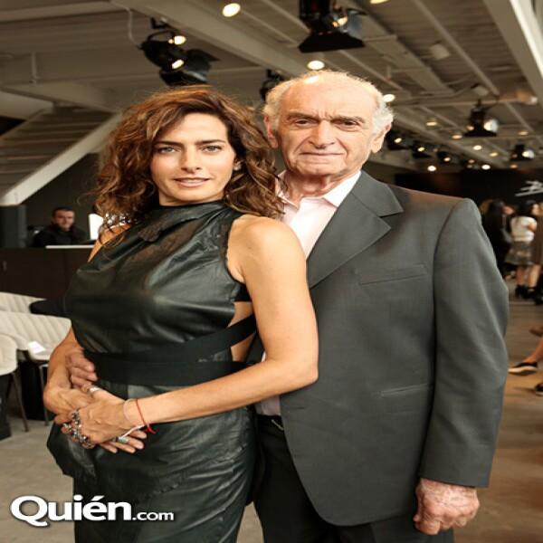 Paola y Nicolás Saad