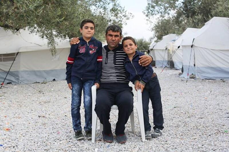 A través de Facebook, los refugiados encuentran una voz.