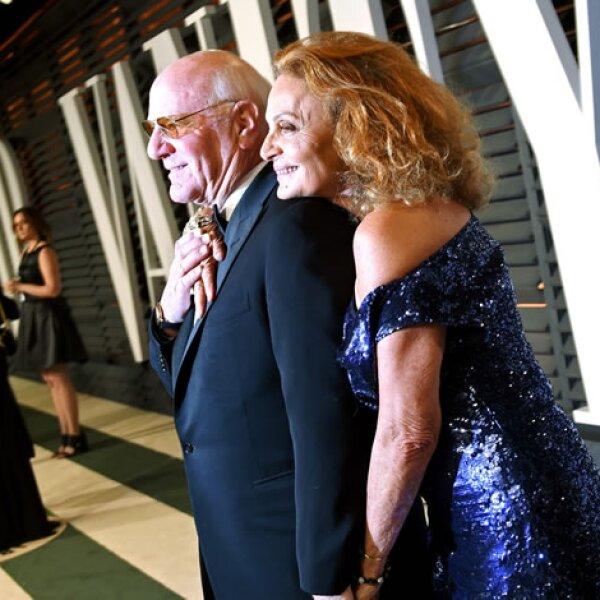 Barry Diller y Diane Von Furstenberg