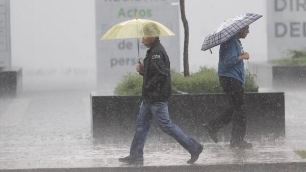 Lluvias en el país
