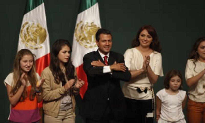 Calderón llamó a las fuerzas políticas a colaborar con el nuevo Gobierno de Peña Nieto. (Foto: Dayán Jiménez)