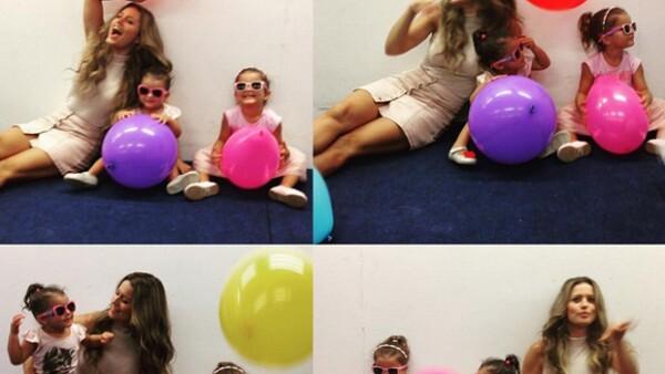La actriz festejó con una temática rockera el cumple número 2 de su hija y compartió varios videos de la celebración.