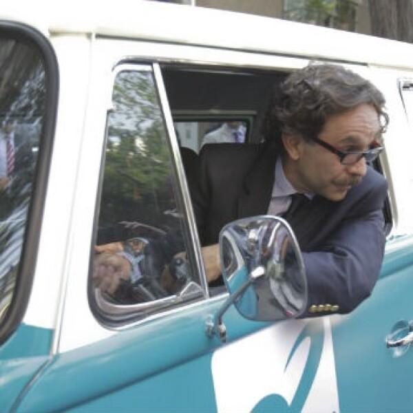 Gabriel Quadri estrena su combi en el df