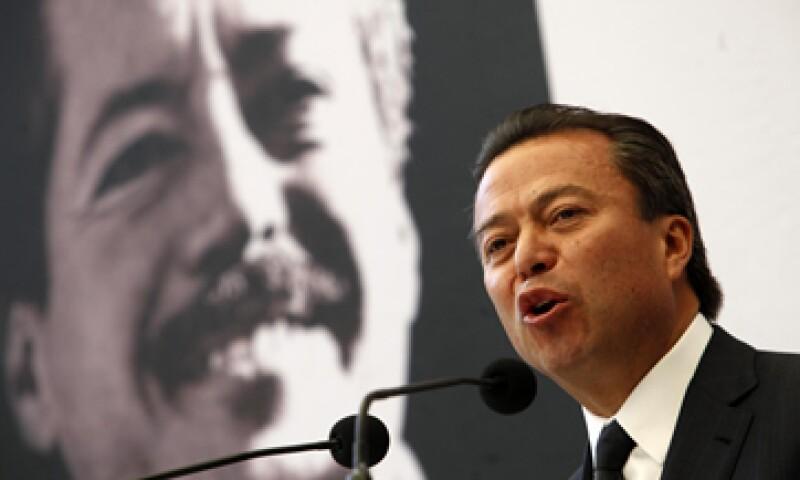 César Camacho Quiroz destacó las diferencias entre algunos senadores del PAN. (Foto: Notimex)