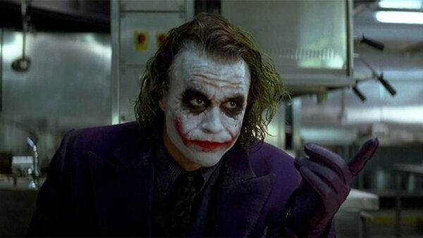 The Joker en 'The Dark Knight'