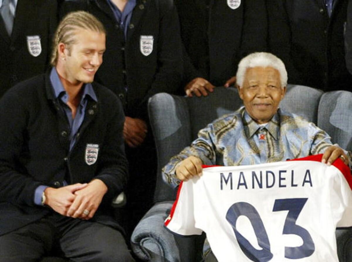 Celebridades que conocieron de cerca a Nelson Mandela