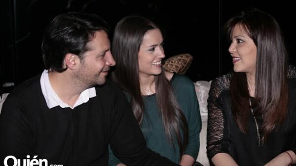 Alexis Rovzar,Adrian Sánchez,Lorena Cobo