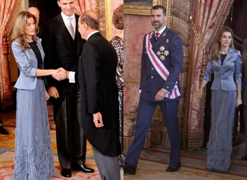 Letizia es la royal que más repite outfits.